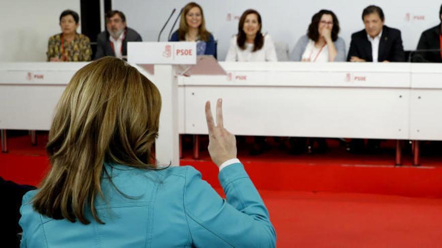 El PSOE aprueba el proceso de las primarias pese a la oposición de los 'sanchistas'