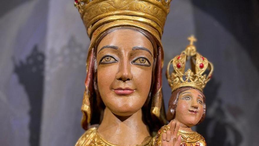 Troben al Mercat dels Encants una figura robada de la Mare de Déu de Queralt