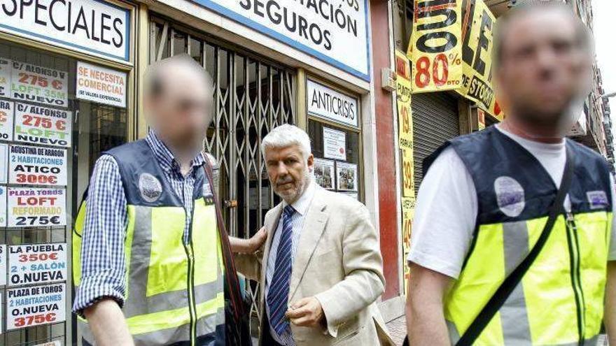 Juicio en Zaragoza I Acusa a su testaferro de blanquear como prestamista miles de euros que le robó