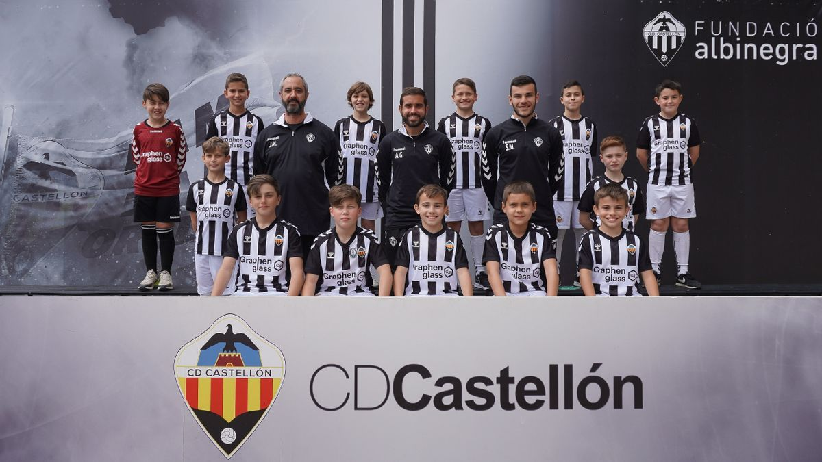 Alevín B del CD Castellón