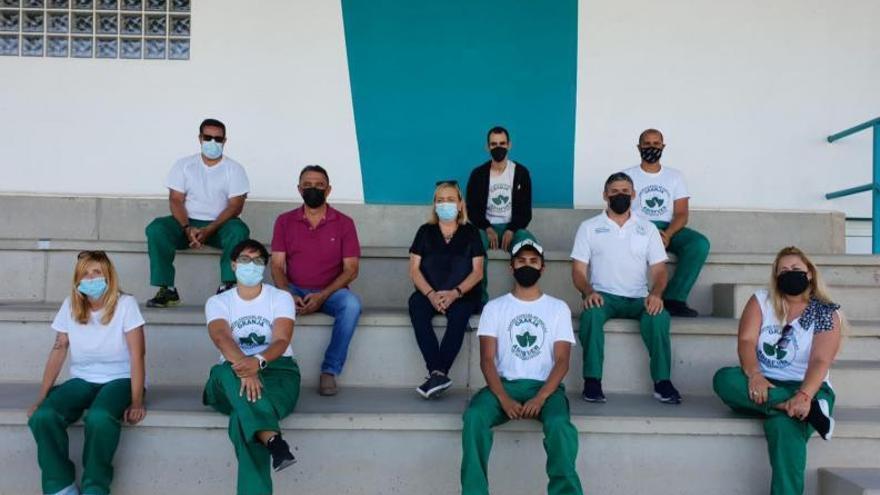 Miembros de Adisfuer trabajarán en las instalaciones deportivas del Cabildo