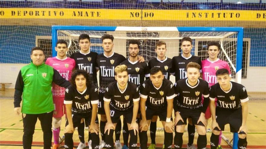 El Stilo Textil Córdoba Futsal juvenil quiere ganar el título para dedicárselo a José Manuel Domínguez