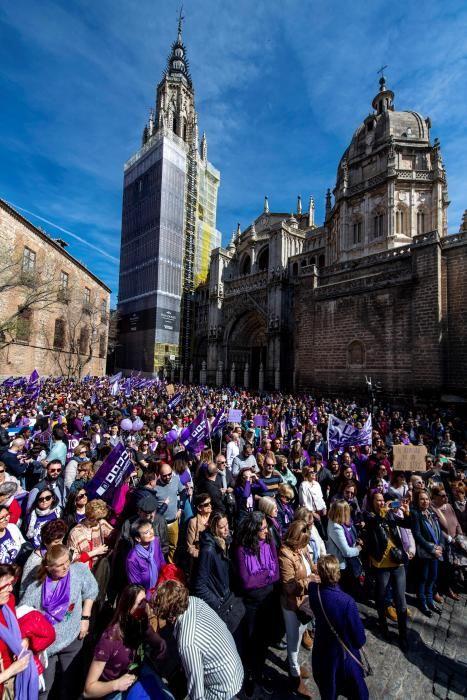 Manifestacion Dia Mujer en Toledo