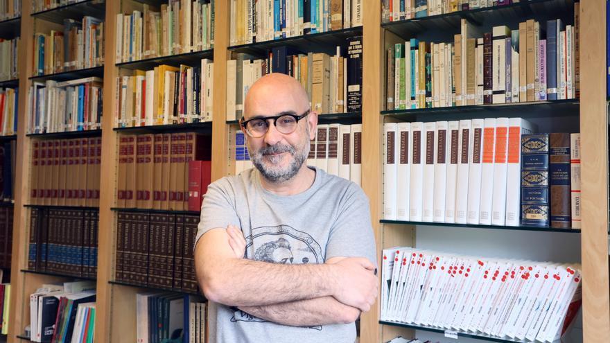 """""""Vigo pode presumir da calidade da súa literatura, estamos na vangarda"""""""
