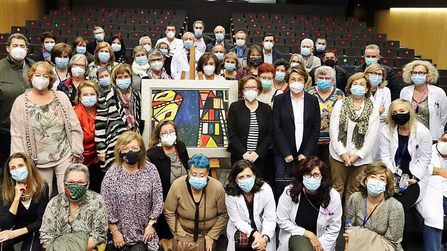 Homenaje a los 179 profesionales del área sanitaria jubilados este año
