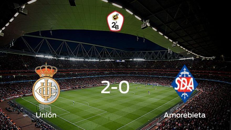 El Real Unión de Irún se lleva tres puntos después de vencer 2-0 al Amorebieta