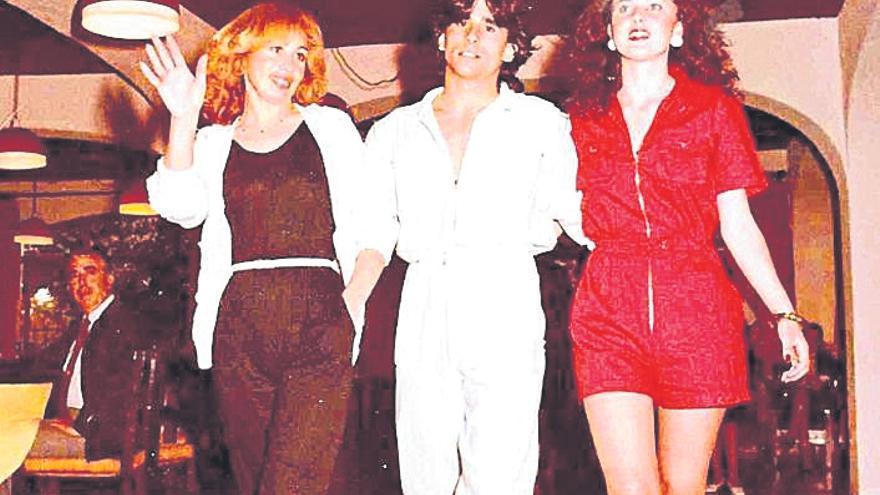Los felices desfiles de moda de los 80 y 90 en Xàbia y Dénia