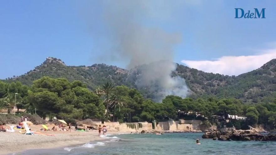 Waldbrand in Costa dels Pins bereits unter Kontrolle