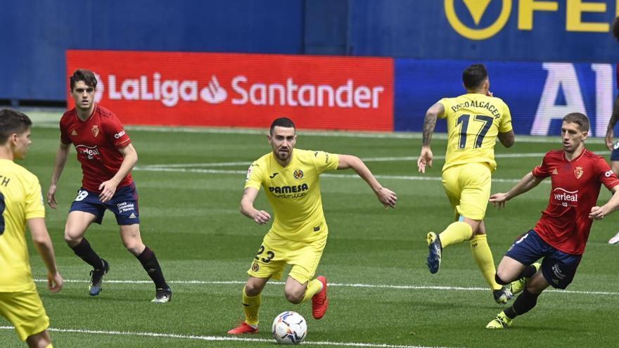 El Villarreal juega con la luz apagada cara al gol ante Osasuna (1-2)