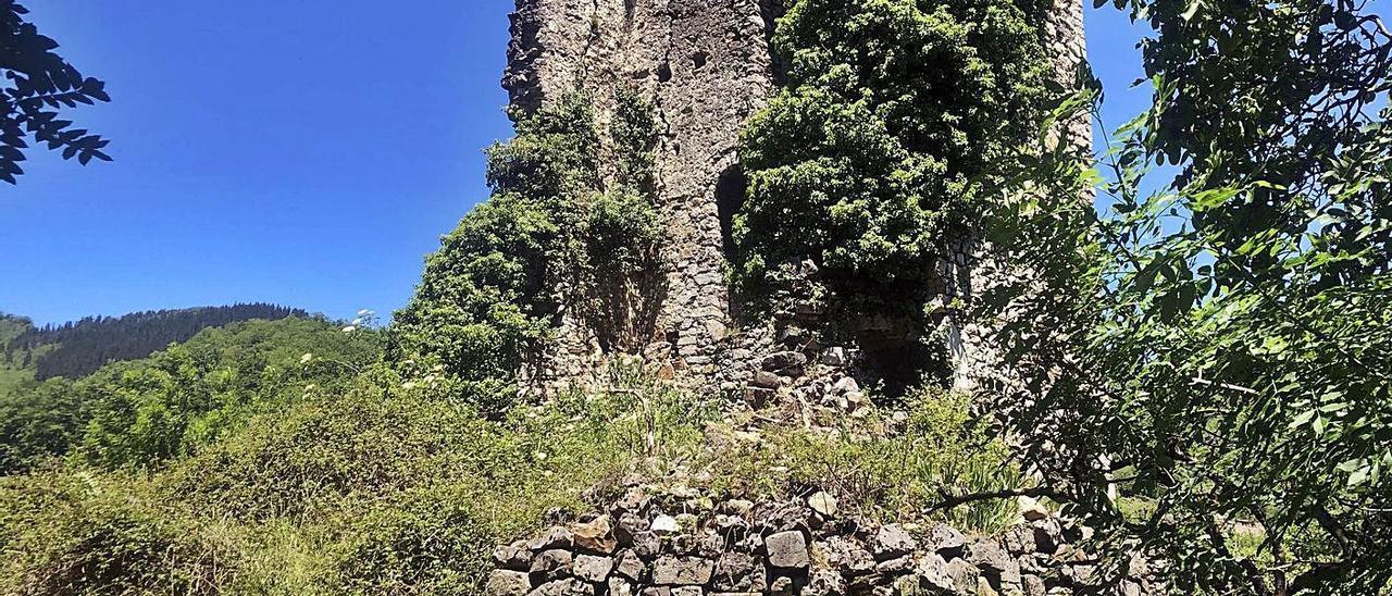 La torre de Soto, en el concejo de Aller. | |  LNE