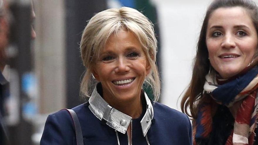 Brigitte, una primera dama 24 años mayor que Macron