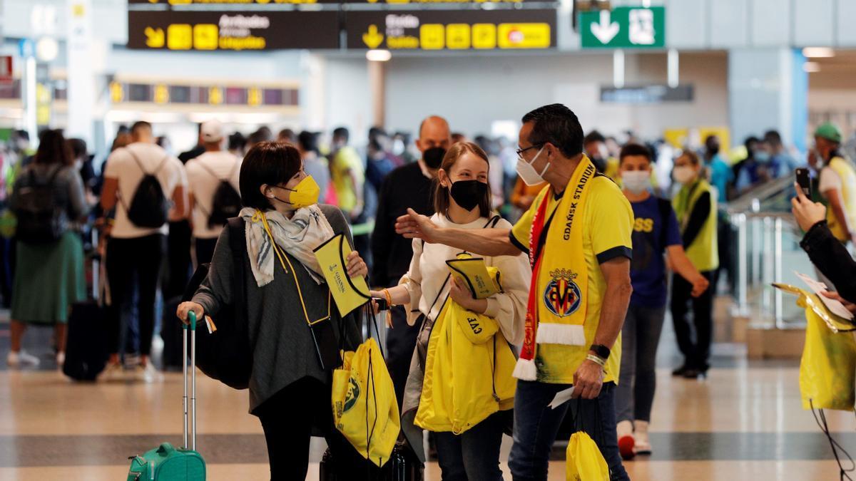 Los aficionados del Villarreal podrán viajar a Belfast como ya hicieron a Gdansk.