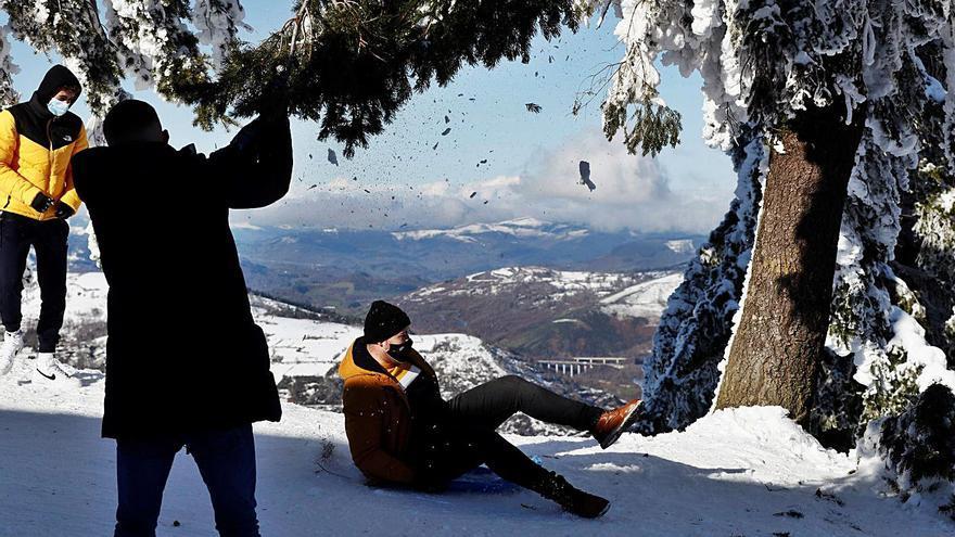 Galicia, ultracongelada este fin de semana