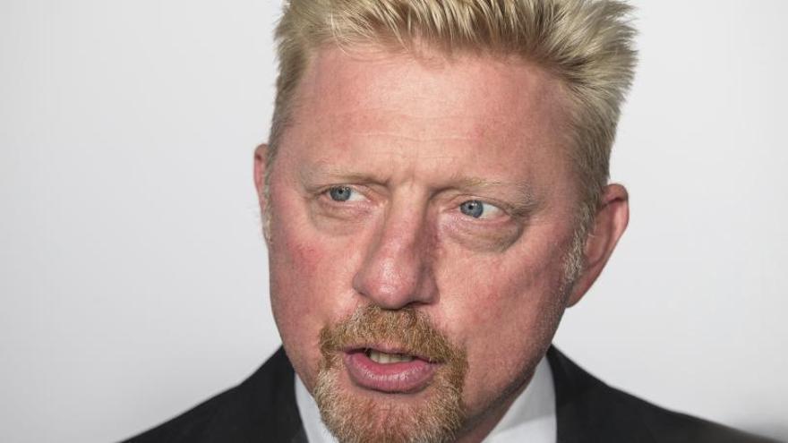 El extenista alemán Boris Becker, en bancarrota