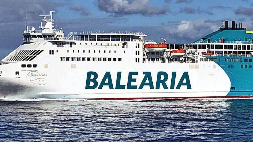 Baleària colabora con las autoridades para esclarecer el accidente de Ibiza