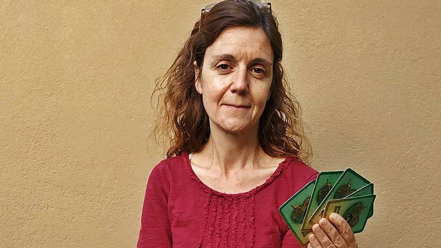 Anna Ferrer crea unes cartes per parlar d'emocions