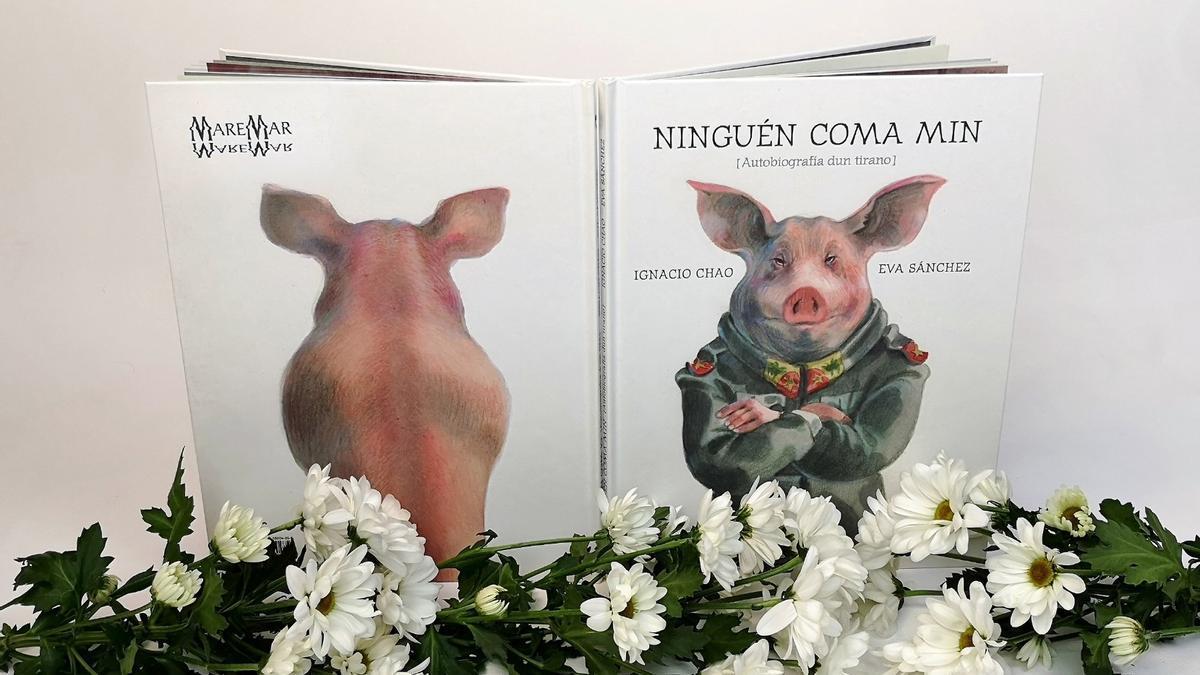 'Ninguén coma min', de Ignacio Chao e Eva Sánchez, publicado por la editorial Kalandraka.