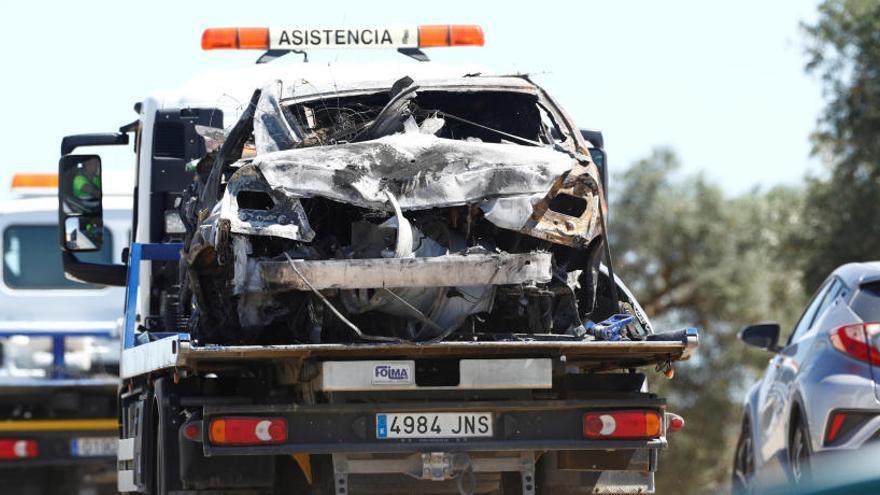 La DGT apunta a la velocitat com a causa de l'accident de Reyes