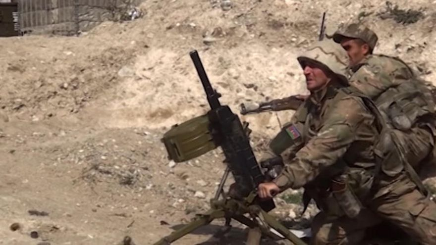 Se intensifican los combates en la zona de Nagorno Karabaj
