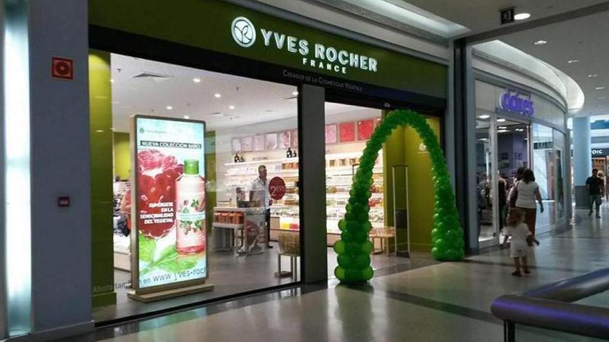 Yves Rocher también estará en Vialia Vigo