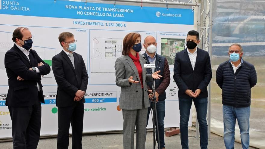 La Xunta adjudica la futura planta de transferencia de A Lama por más de 1,1 millones de euros