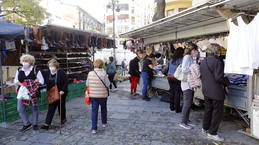 La ciudad suspende todas sus actividades incluyendo mercadillos