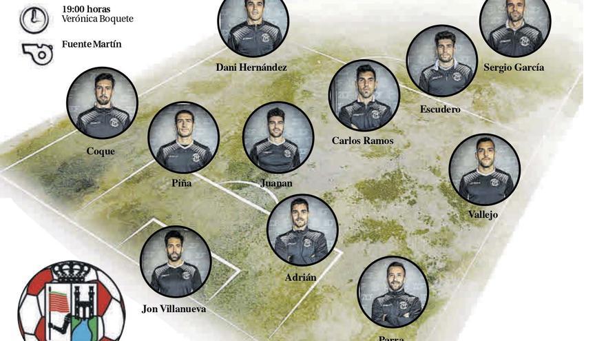 El Zamora CF, a por los últimos puntos del año ante el Compostela