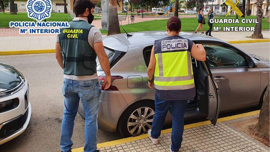 Cuatro arrestados en Alicante y Valencia por 39 robos a turistas en áreas de descanso de la A-7