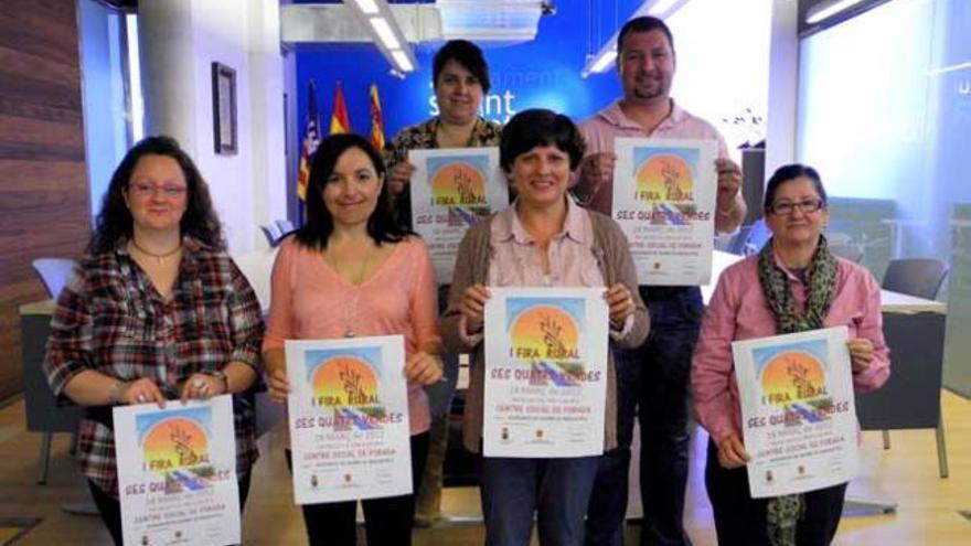 Forada acoge la Primera Feria Rural de Ses Quatre Vendes