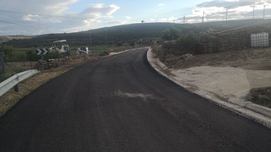 Arrancan las obras de la carretera de Portell a Cinctorres