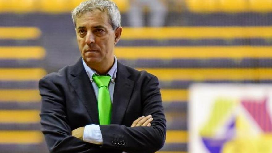 """Suso Méndez: """"No estaremos pendientes del Burela y Cartagena; transmitiría inseguridad al Gran Canaria"""""""