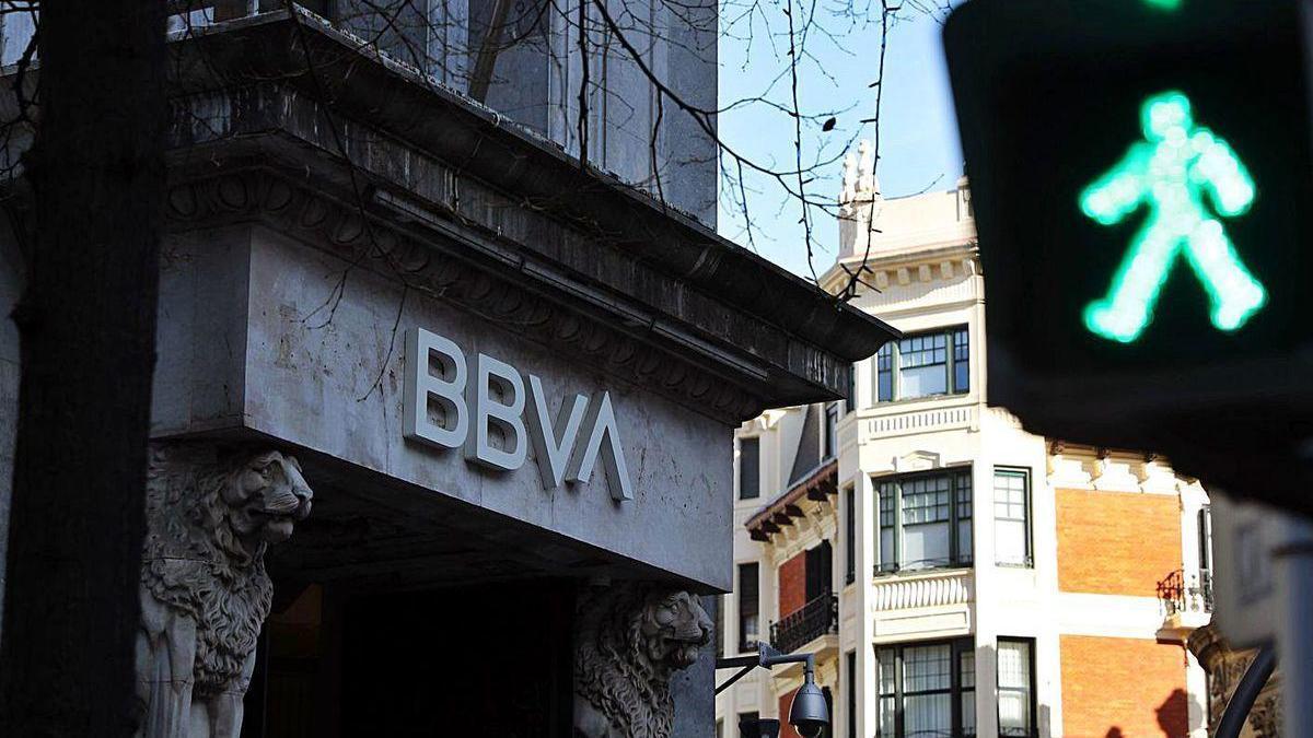 Sede del BBVA en Bilbao.