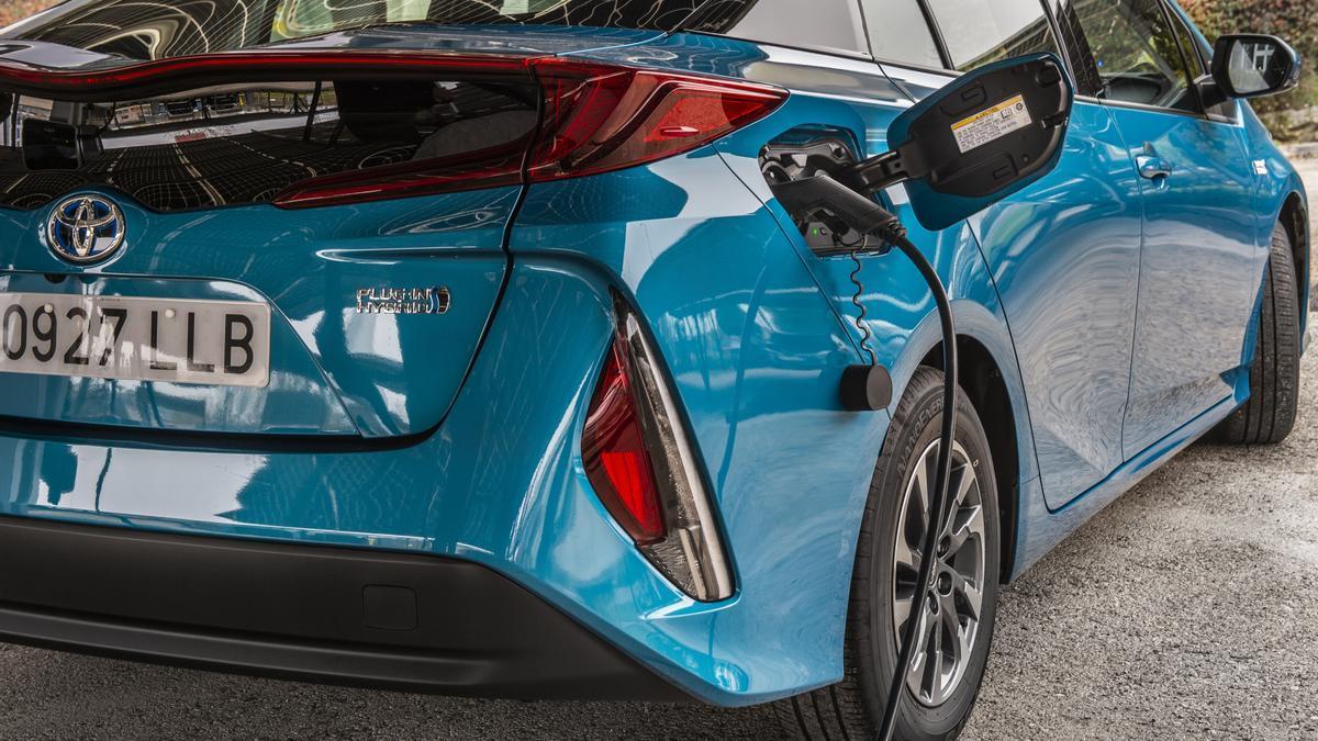 Un vehículo electrificado.