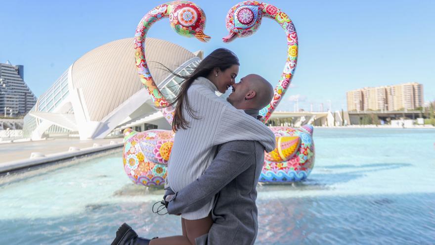 San Valentín: El romanticismo invade la Ciudad de las Artes