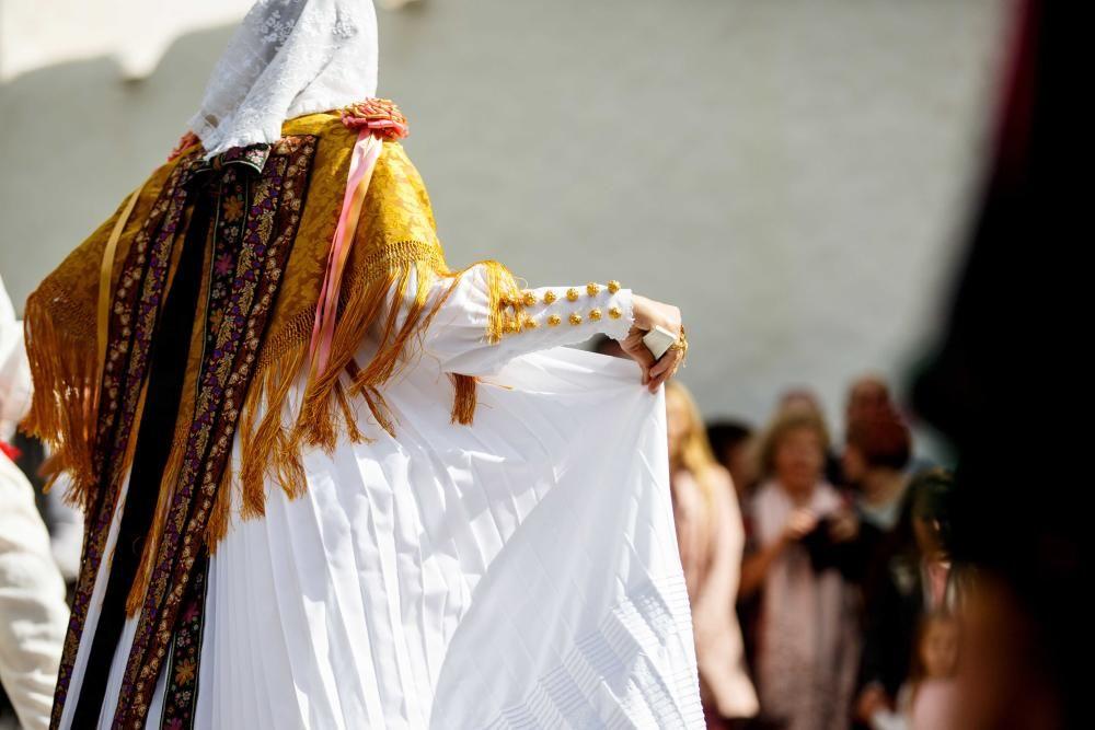 Sant Rafel vivió ayer el día de su patrón fiel a la tradición