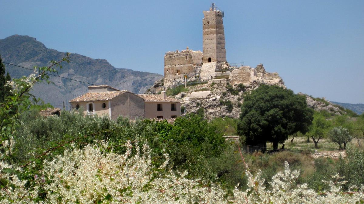 Castillo de Penella en Cocentaina