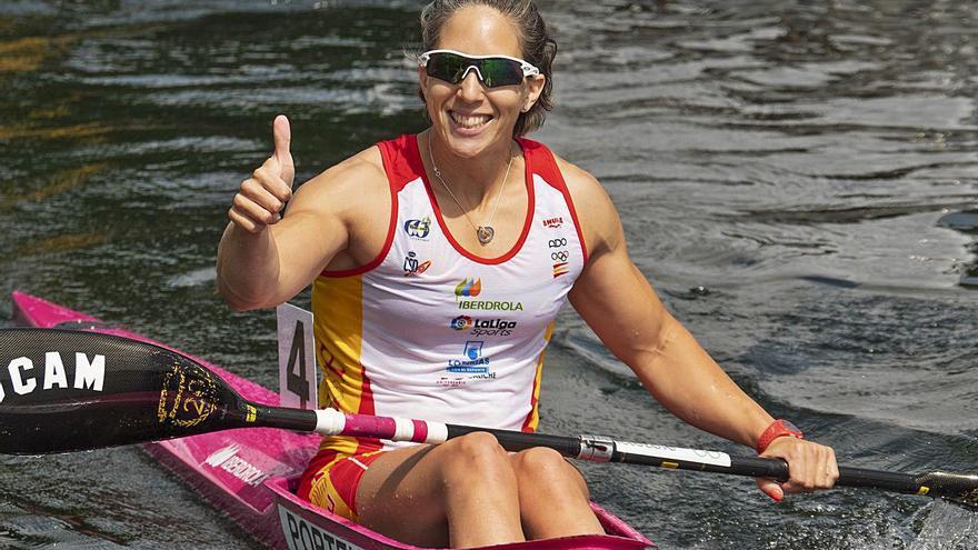 Teresa Portela busca el billete para sus sextos Juegos