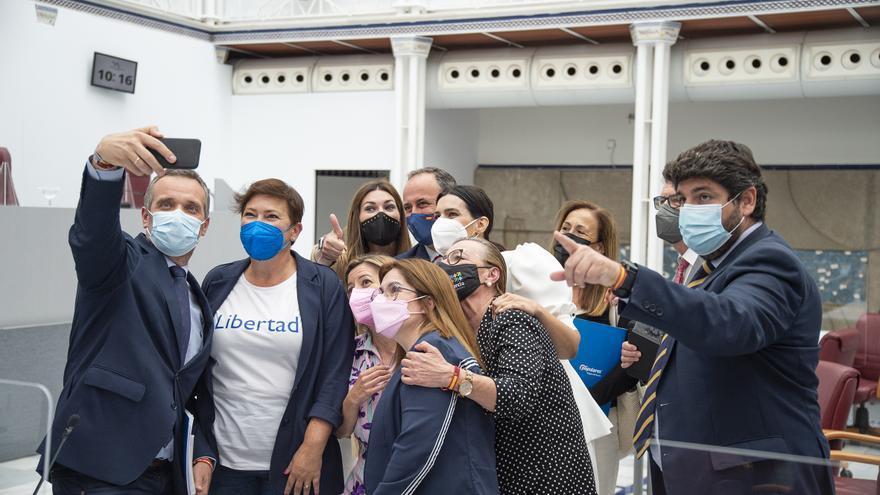 """""""El cambio de Ley del Presidente es una maniobra antidemocrática que convierte a López Miras en un sátrapa"""""""