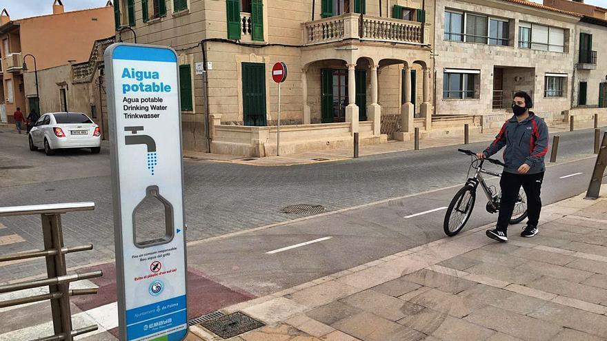 Solo el 34 por ciento de la población de Palma bebe agua del grifo a diario