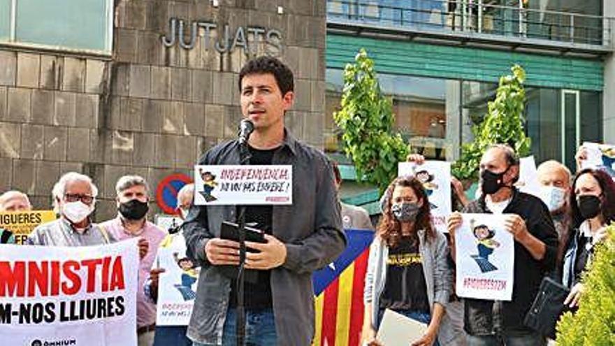 Figueres acull un acte de suport als «represaliats contra l'independentisme»