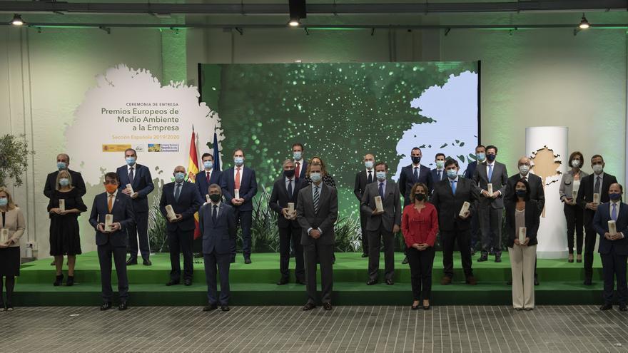 Heineken España recibe el Premio Europeo de Medio Ambiente de la Fundación Diversidad
