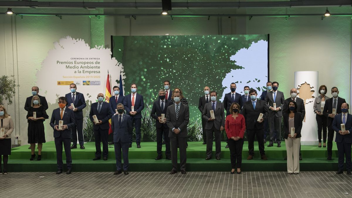 Ceremonia Sección Española de los Premios Europeos de Medio Ambiente