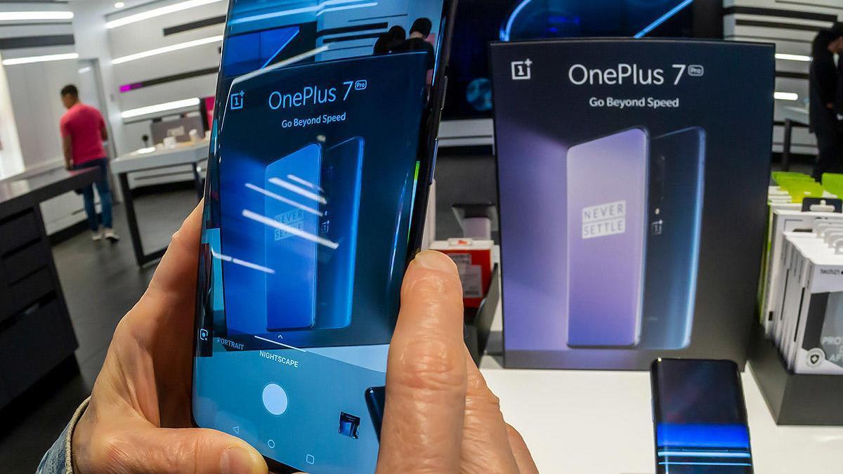 Un modelo de móvil OnePlus.