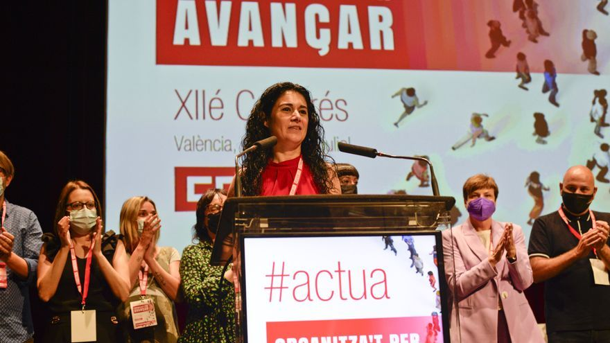 Ana García, primera mujer elegida como secretaria general de CCOO del País Valencià