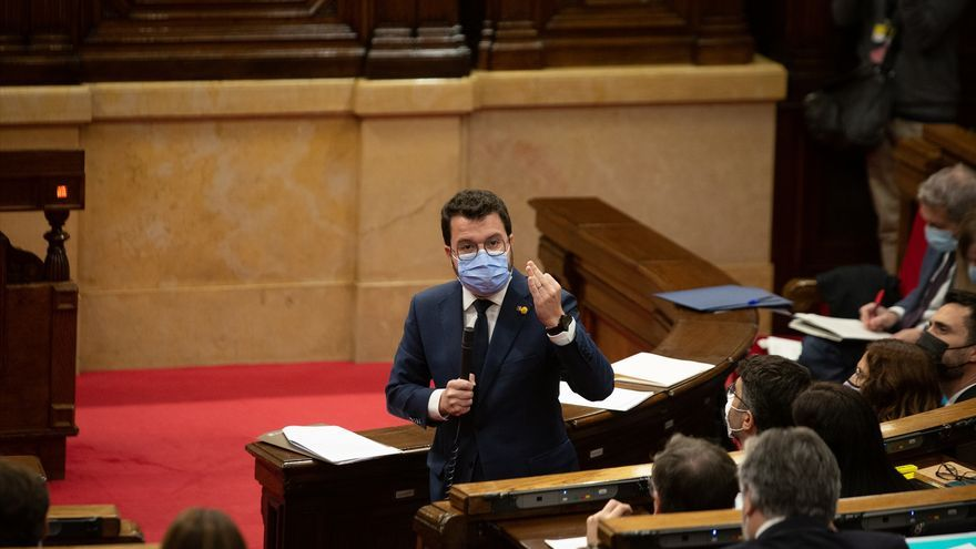 Aragonès avisa que ERC está más cerca de votar en contra de los PGE que de aprobarlos