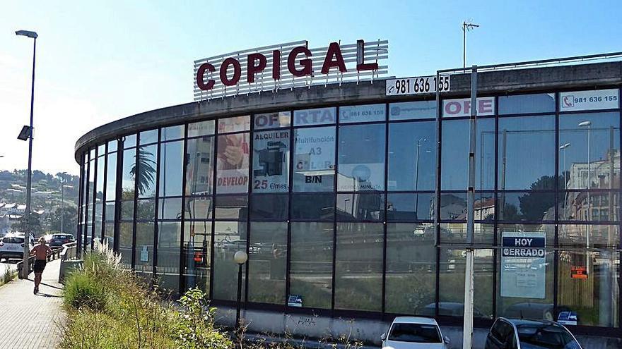 Parte del edificio de Copigal se vacía al trasladarse a Agrela