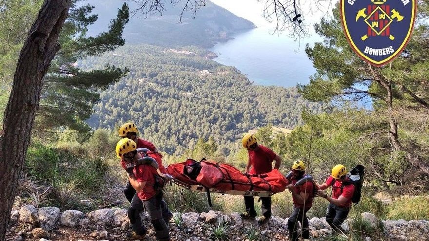 Rescatan a una senderista en el Port des Canonge
