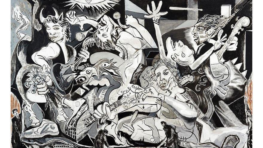 Ron Wood: un 'stone' fan de Pablo Picasso