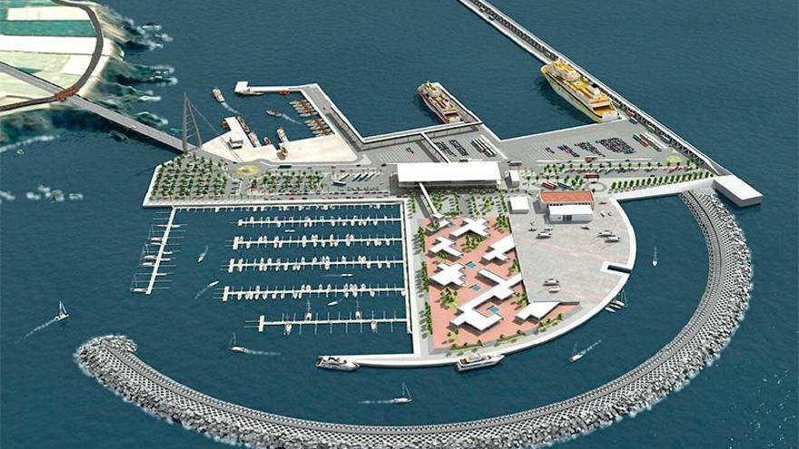 CC abre un debate interno para revisar su posición sobre el puerto de Fonsalía