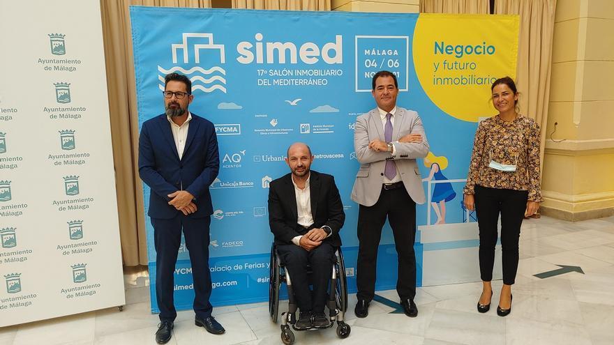 El SIMed de Málaga presenta una oferta de 11.000 viviendas y busca recuperar la normalidad